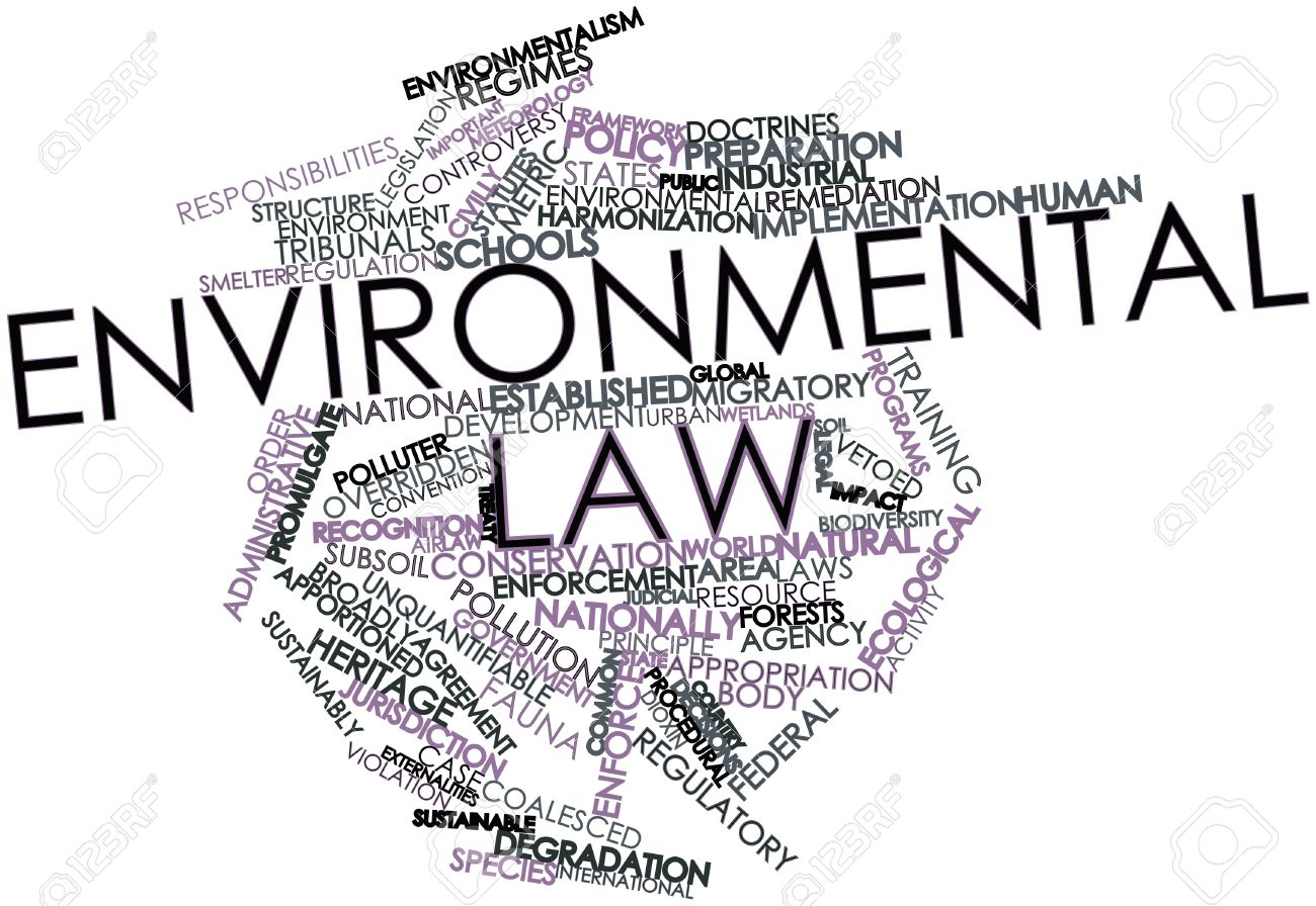 environmental law Green careers: environmental law environmental lawyers focus on litigation dealing with a wide range of concerns, from air and water quality to wildlife protection.